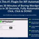 WP Freshstart 4 By Ankur Shukla Review – Get Amazing WordPress Automation Software. FINALLY : CLICK, CLICK & Your Google-Friendly WP Site is Ready to Use in SECONDS…