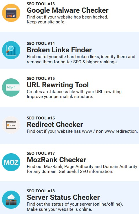 mozrank checker tool