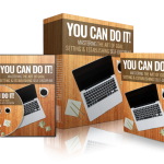 You Can Do It! Self Improvement PLR Bundle By Rick Warid Review – Customizable Guide On Mastering The Art Of Goal Setting And Improving Self Discipline. Brand New Course And Complementary PLR Material Which Focuses On Mastering The Art Of Goal Setting & Improving Self Discipline