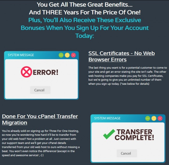 ThreeForOne Hosting Unlimited Package By Richard Madison Review